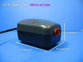 AquaClear #10 Air Pump SET   Fish tank 5 10gal aquarium