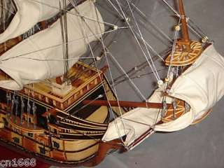 Le soleil royal high quality wooden model wood ship 40