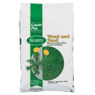 Scotts LawnPro Weed and Feed Weed Control Plus Lawn Fertilizer   15 lb
