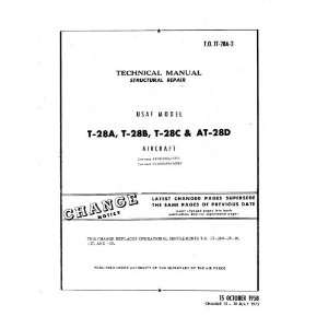 North American Aviation T 28 Aircraft Structural Manual