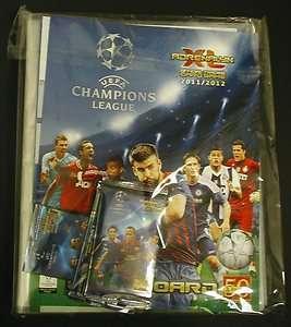 2012 Panini UEFA CHAMPIONS LEAGUE Soccer Cards Starter Pack (Starter