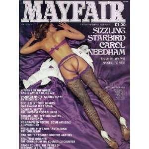 MAYFAIR MAGAZINE VOL. 19 NO. 4: MAYFAIR MAGAZINE: Books