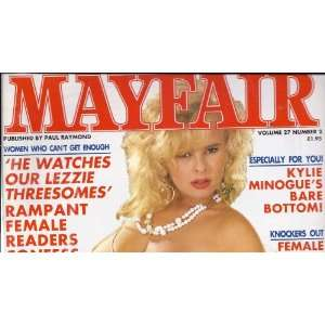MAYFAIR MAGAZINE VOLUME 27 NUMBER 2: MAYFAIR MAGAZINE