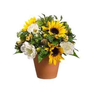 Sunflower arrangement ideas on popscreen - Terras arrangement ...