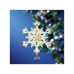 Lenox 2006 Annual Snowflake Christmas Ornament New in Box