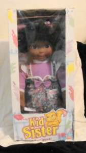 1993 Playskool Kid Sister My Buddy Doll Mint In Box Very Nice!