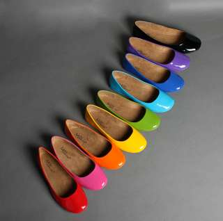 NEW Womens Fashion SWEET Ballet Flats Shoes 9 COLORS