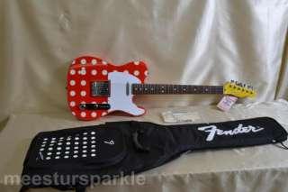 Fender Japan Disney Telecaster Minnie Mouse tele mickey (690
