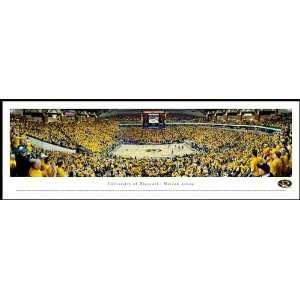 Missouri Tigers   Mizzou Arena   Wood Mounted Poster Print