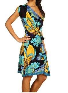 brand Hale Bob dress. Gorgeous colors. Sophistication at its finest