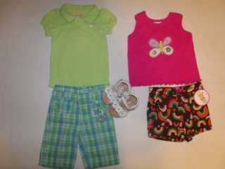 HUGE LOT 51 PIECE USED BABY/TODDLER GIRL SUMMER CLOTHING SIZE 18 24