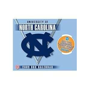 NORTH CAROLINA TAR HEELS 2009 NCAA Daily Desk 6.5 x 5.25