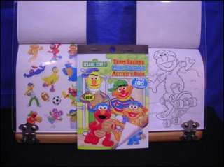 Sesame Street Super Sticker Books 100 Stickers each Party Favors