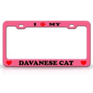 I PAW MY DAVANESE Cat Pet Animal High Quality STEEL /METAL