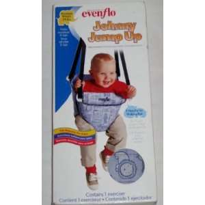 Evenflo Johnny Jump up Baby Exerciser Blue Animals Baby