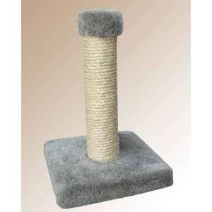 19 Sisal Cat Scratching Post with Square Base Carpet