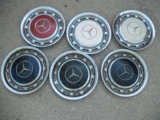 Vintage OEM Mercedes Benz 14 inch hubcap W111 W113 W114 W116 W107