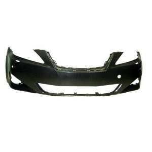 TY04311BD Lexus IS250/350 Primed Black Replacement Front Bumper Cover