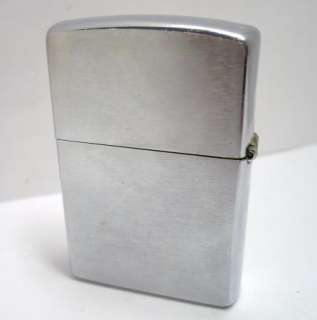Collectible ZIPPO Lighter, Nice Brushed Chrome
