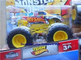 2012 HW TEAM HOT WHEELS FIRESTORM Monster Jam New Truck 1/64 TRUCK