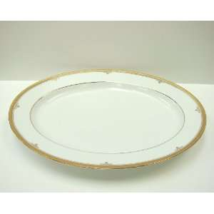 Noritake Fine China BUCKINGHAM GOLD #4346 OVAL PLATTER  13