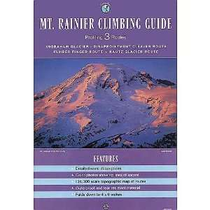 Mt Rainier Climbing Guide Featuring 3 Routes by Stanley Maps