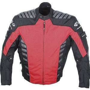 Joe Rocket Airborne Mens Textile Street Bike Racing Motorcycle Jacket