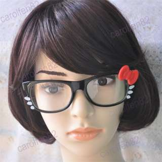 Hello Kitty Bow Style Glasses Costume + Free Fashion Gift Box For
