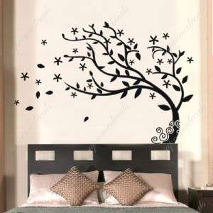 have  Elegant tree   Stickers Removable Vinyl Wall Art Decals