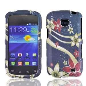 Straight Talk Samsung Galaxy Proclaim Floral Galaxy Faceplate Hard