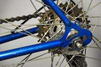 1970s Raleigh Record vintage road racing bike bicycle blue Shimano