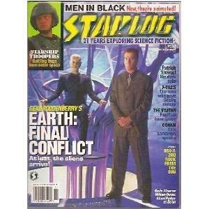 Starlog #244 (NM) Earth Final Conflict, X Files, DS9