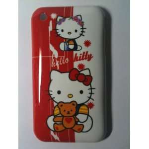 Hello Kitty Designer Snap Slim Hard Case Back Cover for iPhone 3G 3GS
