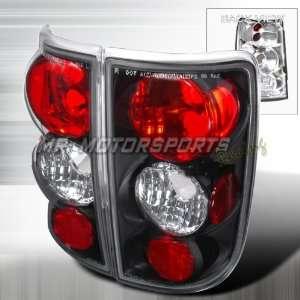 CHEVY BLAZER/JIMMY TAIL LIGHTS BLACK Automotive