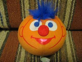 Ernie, from Sesame Street shake rattle laugh Plush Ball