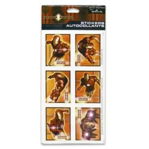 Iron Man Stickers 4 Sheets Case Pack 96