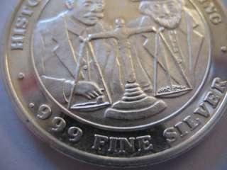 SILVER HISTORIC CENTRAL CITY CO GLORY HOLE BULLION COIN + GOLD