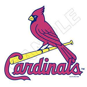 MLB St. Louis Cardinals Edible Cake Topper Decoration Image
