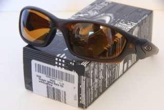 NEW Oakley POLARIZED Straight Jacket Sunglasses Matte Rootbeer w