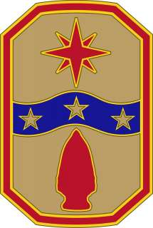 SUSTAINMENT CSIB US ARMY DRESS BLUES COMBAT SVS IDENTIFICATION BADGE