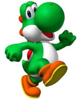 Super Mario Yoshi Brothers Bros Iron On Transfer #7