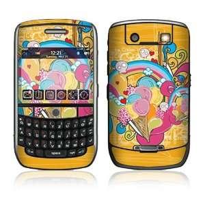 BlackBerry Curve 8900 Decal Skin   I Love Ice Cream