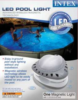 INTEX Above Ground LED Magnetic Swimming Pool Light