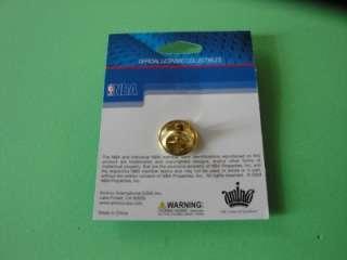 NBA Basketball Hoop Net Hat Pin Enamel Metal Pinback NIP New in