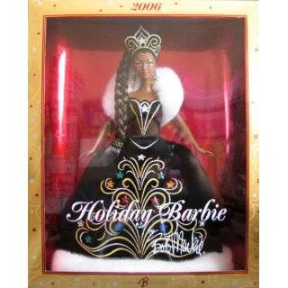 2002 Holiday Celebration African American Barbie Toys & Games