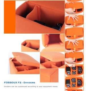 FOSSOUX F2 Partition padded bag SLR DSLR camera insert