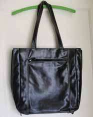 Faux Leather High End Laptop Tote Large Messenger Bag Briefcase