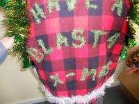 HILLBILLY LIGHT UP UGLY CHRISTMAS SWEATER VEST REDNECK HUNTER MENS XL