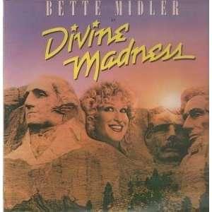 DIVINE MADNESS LP (VINYL) UK ATLANTIC 1980 BETTE MIDLER