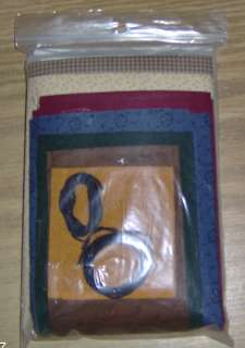 BEAR BLESSING   CUTE WALL HANGING QUILT KIT